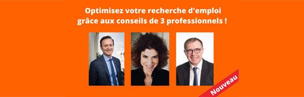 Webinar « Optimisez votre recherche d'emploi grâce aux conseils de 3 professionnels ! »